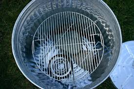 can turkey stand trash can turkey stand garbage can turkey smoker 8 steps with