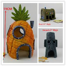 aliexpress buy 3 pcs large real spongebob aquarium