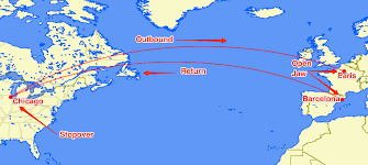 Iberia Route Map by Abroaders Frequent Flyer Mile Experts