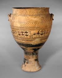 terracotta krater attributed to the hirschfeld workshop 14 130