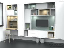 bibliothèque avec bureau intégré bibliothaque avec bureau bibliotheque avec bureau integre meetharry co