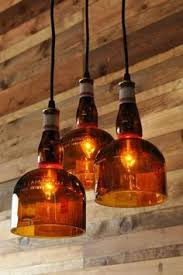 Diy Glass Bottle Chandelier Recycled Bottle Crafts Diy Ideas Pinterest Recycled Bottles