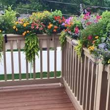 9 best railing planters images on pinterest planter boxes