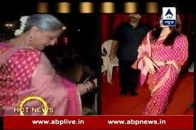 Jaya Bachchan Hot Pics - check out jaya bachchan and aishwarya rai bachchan s same sarees