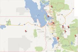Orem Utah Map by Salt Lake City U0026 Park City Utah Roofer