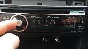 pioneer deh 4000ub youtube
