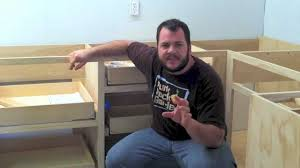 kitchen cabinets installation video how to install blum tandem undermount drawer slides youtube