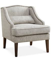 Arm Accent Chair Baylor Swoop Arm Accent Chair Ship Furniture Macy S
