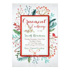 ornament invitations announcements zazzle