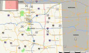 County Map Of Colorado Colorado State Highway 71 Wikipedia