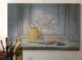 Trompe L Oeil Wallpaper by Trompe L U0027oeil Art Atelier Nadaï