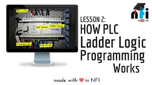 plc e learning session 2 how plc ladder logic programming works