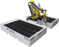 northwood robot sawjet robotic waterjet granite saw