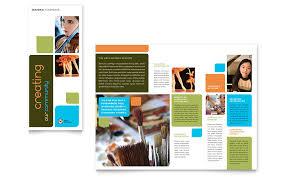 brochure templates on behance