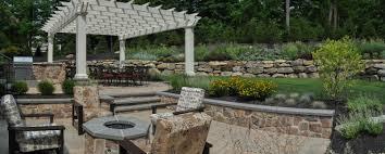 outdoor fireplaces clc landscape design