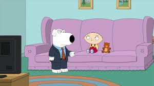 watch stewie finds out that brian is a christmas office party