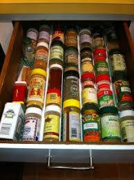 Spice Rack In A Drawer Organize Your Spices In Your New Spice Drawer