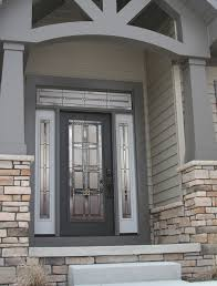 Modern Exterior Doors Provia Laurence Gray Legacy Steel Mid Century Modern Front