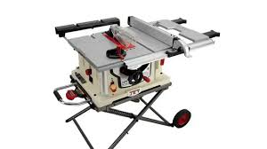 jet benchtop table saw best table saws jet jbts 10mjs 10 inch jobsite table saw youtube