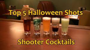 top 5 halloween shots shooter cocktails drinks youtube