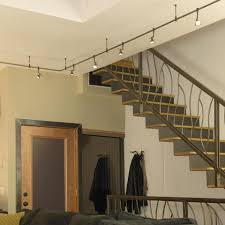 home lighting design example suspended track lighting system appealing suspended track