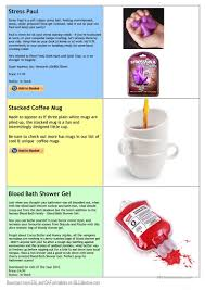 Blood Bath Shower Gel Sell Your Weird Gifts 2 Trading Game Worksheet Free Esl