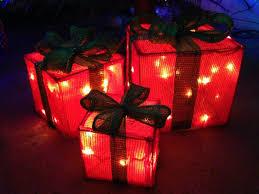 present lights decorations cloth tree