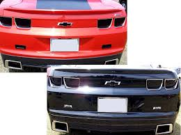 2010 camaro sequential lights 5 camaro 2010 2013 rear light blackout overlay kit 4pc