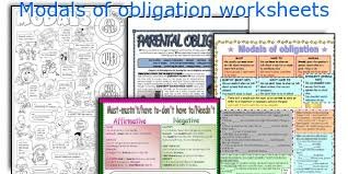english teaching worksheets modals of obligation
