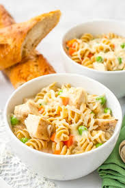 15 minute easy turkey noodle soup family food on the table