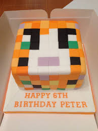 75 birthday cake ideas images minecraft party