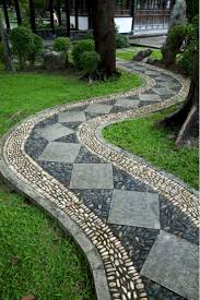 Walkway Ideas For Backyard Backyard Decorative Landscaping Awesome Garden Ideas