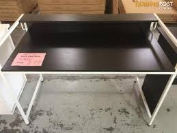 2 level computer desk brand new 2 level home office computer desk black maple colour for