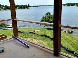 lake house fixer upper building a deck with a view diva of diy