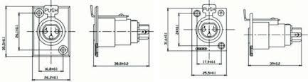 gold rca connector plug jack socket u0026 3 4 5 pin xlr connector male
