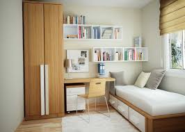 Desk With Storage For Small Spaces Bedroom Modern Minimalist Bedroom Design For Small Room Space With