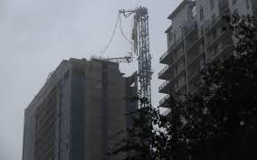 hurricane irma three cranes collapse in south florida miami herald