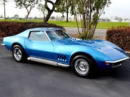 1969 l88 corvette for sale sold 1969 chevrolet corvette coupe l68 lemans blue for sale by