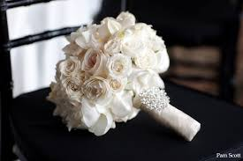 brides bouquet classic white bridal bouquet