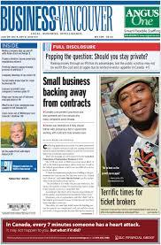 business in vancouver 2011 06 28 by business in vancouver media