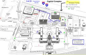 Parking Building Floor Plan Capitol Complex Map Map Directions Parking Map Other Maps