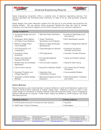 Electrical Engineering Resume Samples by 5 Electrical Engineering Cv Sample Mail Clerked