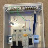 wiring diagram for a small consumer unit yondo tech