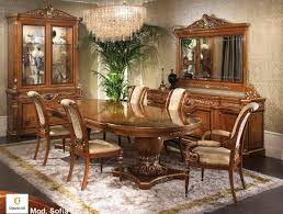 classic furniture for dining room classic inlaid table idfdesign