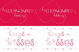 free printable valentine treat bag toppers makoodle
