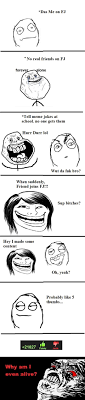 Fuk Yeah Meme - das me on fj no real friends on fj tell meme jokes at school no one