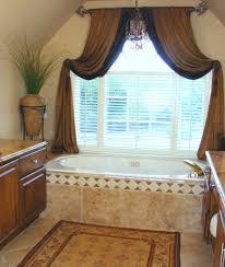 Window Drapes And Curtains Ideas Bathroom Bathroom Window Treatments Ideas Treatment For Privacy