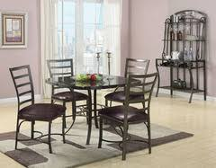 metal and aluminum dining sets metal dining table legs