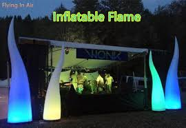 2m 6m indoor and outdoor decorative lighting colorful inflatable