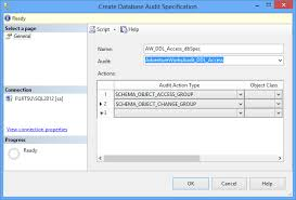 how to set up and use sql server audit solution center